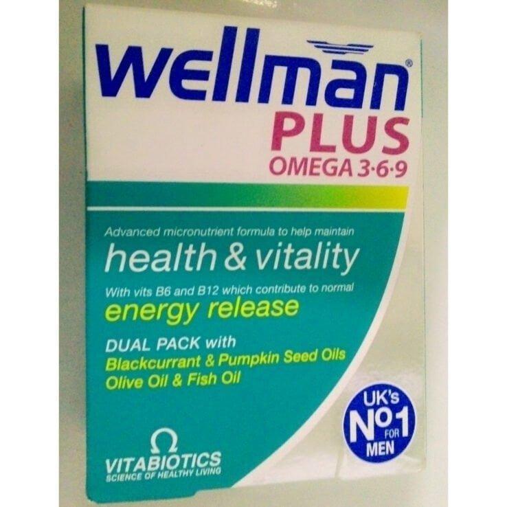 WELLMAN PLUS OMEGA 3.6.9