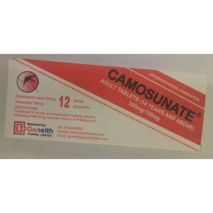 CAMOSUNATE Adult TABLETS (14years and above)