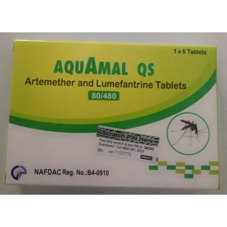 AQUAMAL QS Tablets