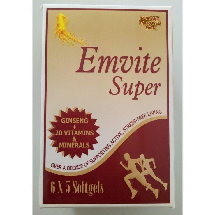 EMVITE SUPER Softgels