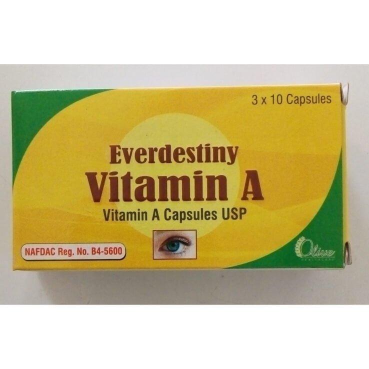 Everdestiny VITAMIN A Capsule *30