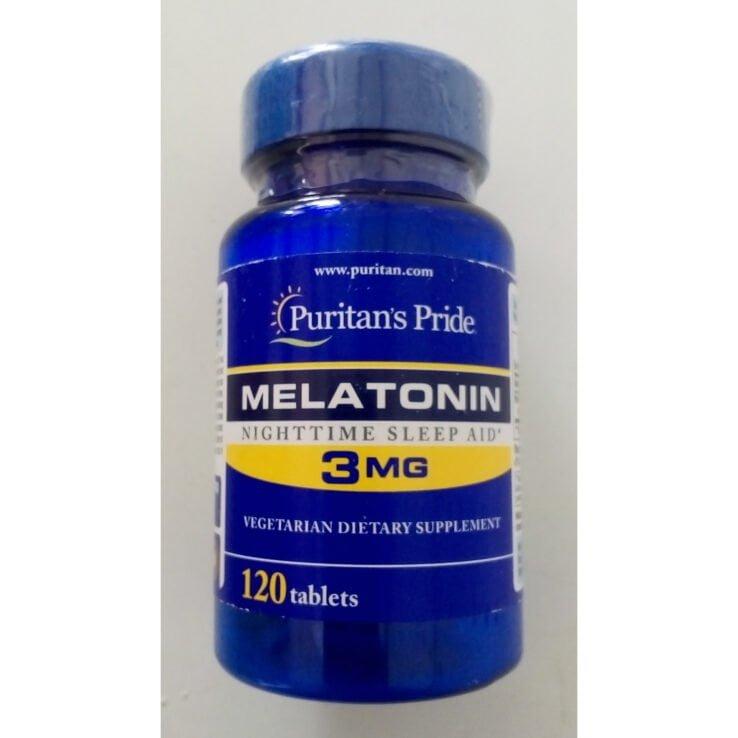 Puritan's pride MELATONIN 3mg *120 Tablets