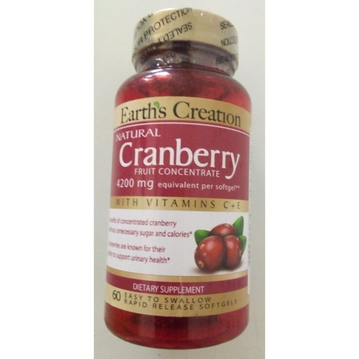 Earth's Creation CRANBERRY 4200mg BUY AT WELNEX ONLINE PHARMACY