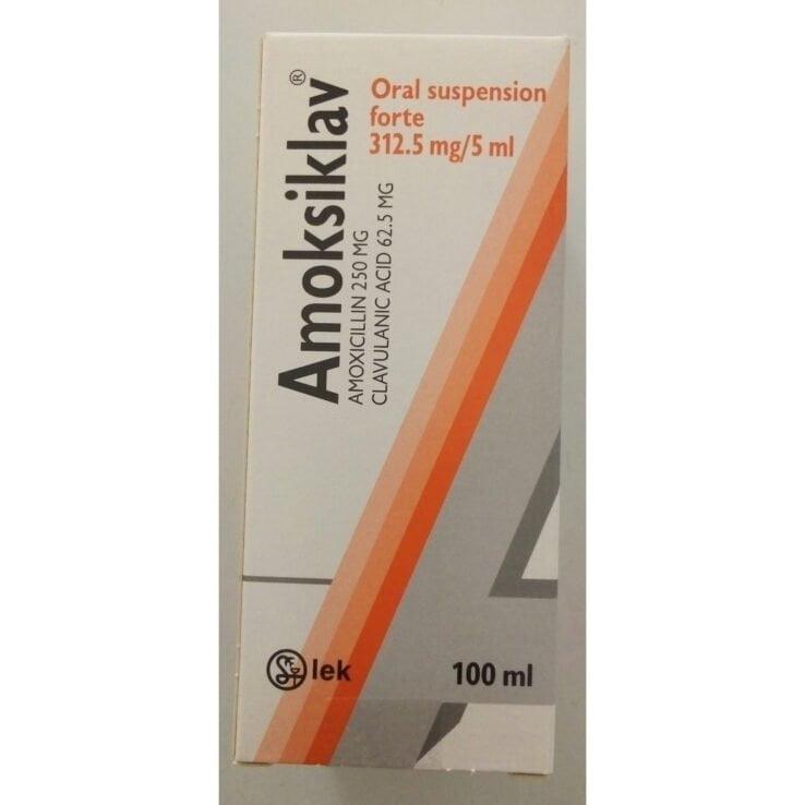 AMOKSIKLAV 312.5mg Oral Suspension