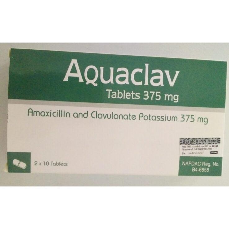 AQUACLAV Tablets 375mg