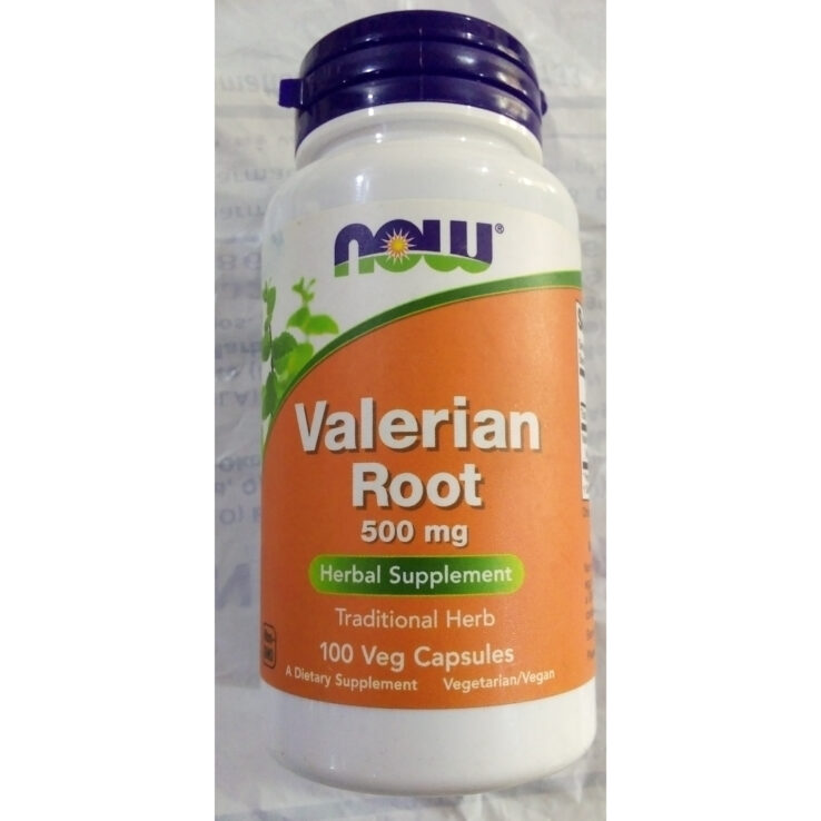 Now VALERIAN ROOT 500mg
