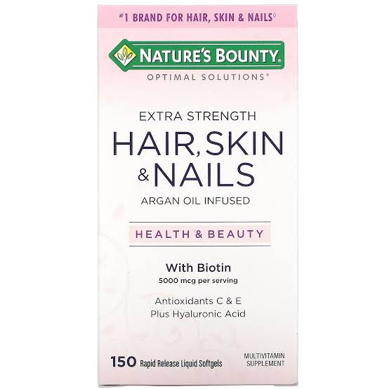 Nature's Bounty Extra Strength Hair,Skin and nails